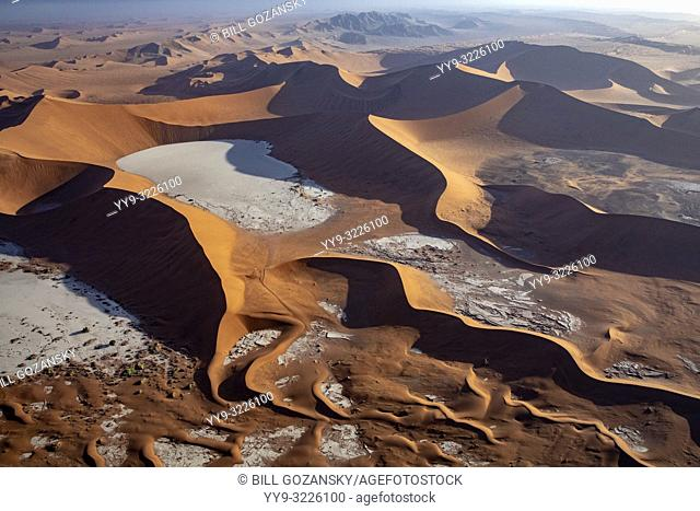 Aerial View of Deadvlei - Namib-Naukluft National Park, Namibia, Africa