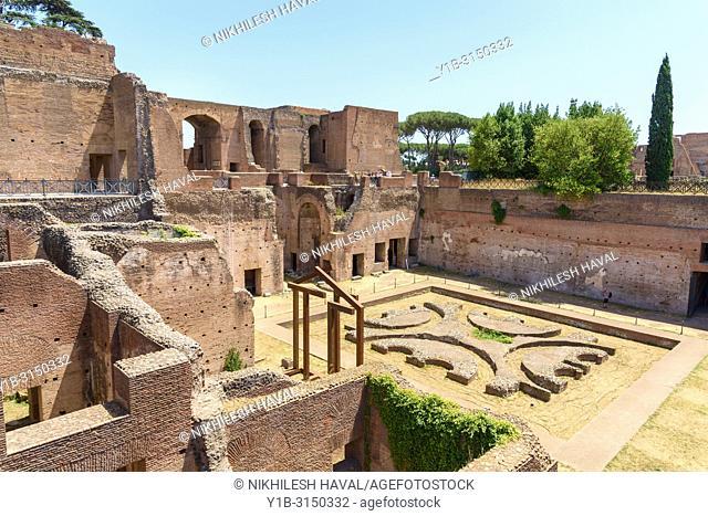Domus Augustana, Palatino, Rome, Italy