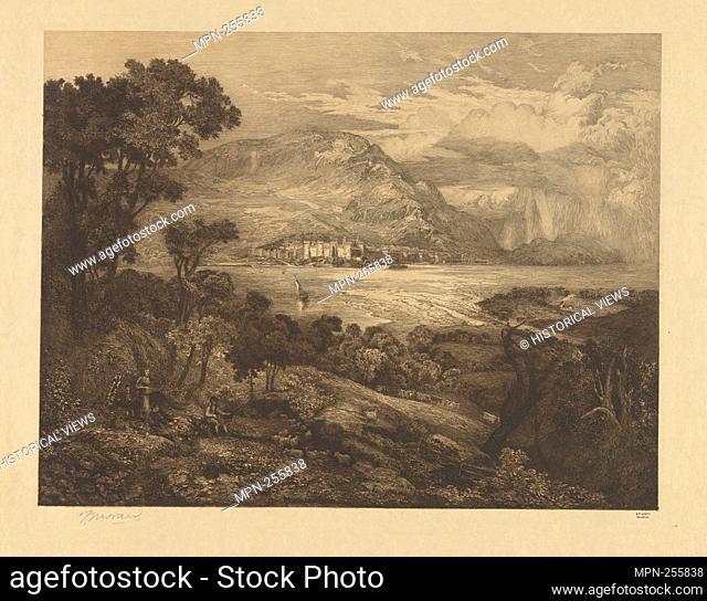 Conway Castle. Moran, Thomas, 1837-1926 (Artist). Thomas Moran: prints and drawings Etchings. Date Created: 1879. Prints