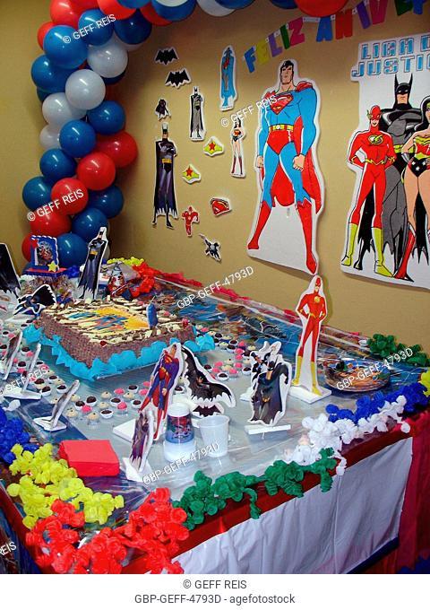 Party of Birthday, São Paulo, Brazil