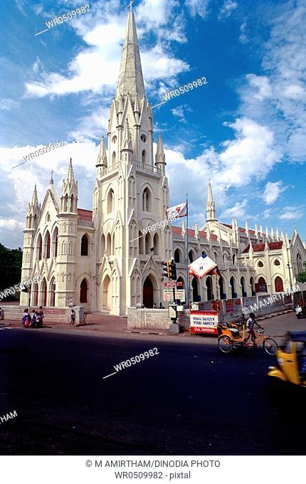 Basilica of saint thomas or san thome , Madras Chennai , Tamil Nadu , India
