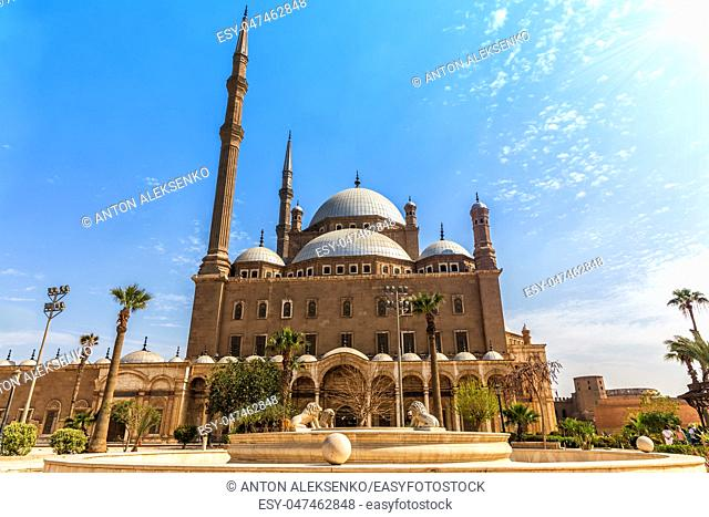 Mosque of Muhammad Ali, Cairo Citadel in Egypt