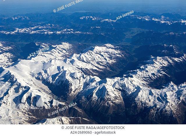 Pasterze Glacier, Grossglockner, Austrian Alps, Austria