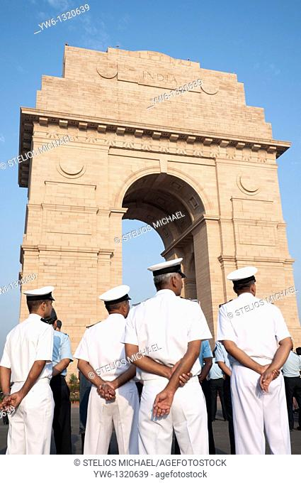Navy Officers India Gate