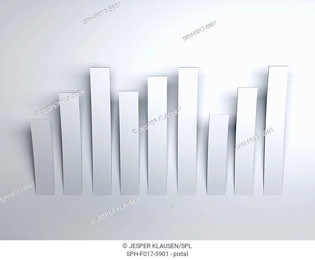 White rectangles, illustration