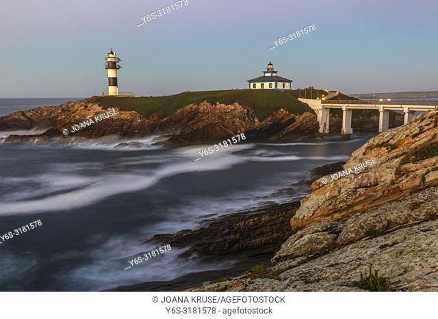 Illa Pancha, Ribadeo, Galicia, Spain, Europe