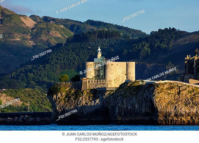 Lighthouse, Castro Urdiales, Cantabrian Sea, Cantabria, Spain, Europe