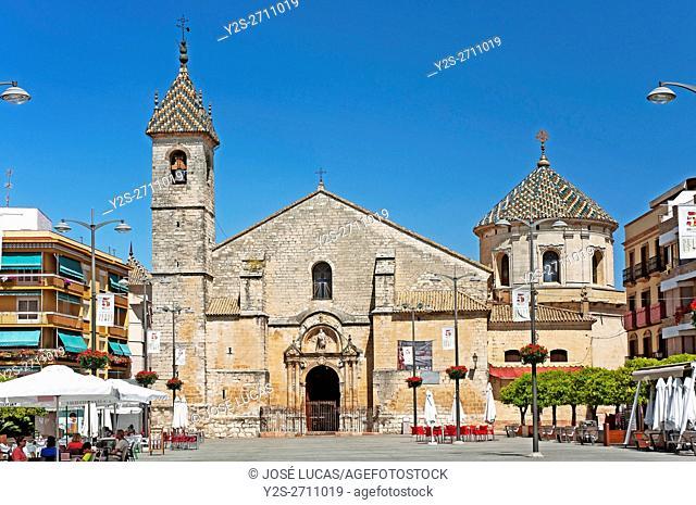 Parish church of San Mateo - 16th century, Lucena, Cordoba province, Region of Andalusia, Spain, Europe