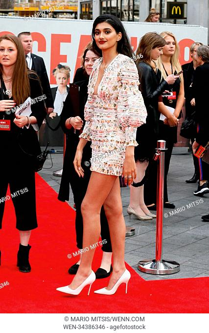 The European Premiere of Ocean's 8 held at the Cineworld Leicester Square - Arrivals Featuring: Neelam Gill Where: London