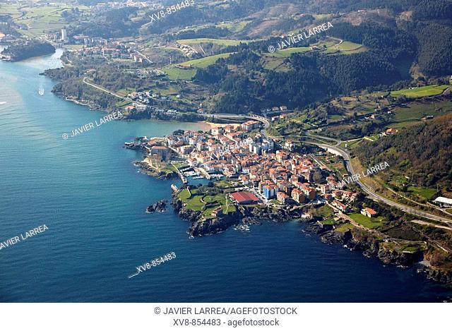 Urdaibai biosphere reserve, Mundaka, Biscay, Basque country, Spain