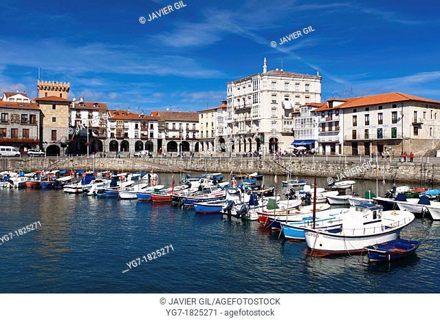 Port of Castro Urdiales, Cantabria, Spain