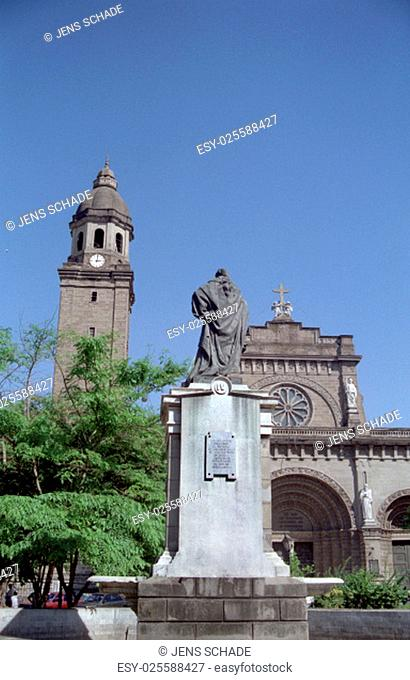 manila - cathedral in intramuros