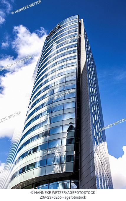 Euler Hermes Headquarters, skyscraper of La Défense, Europe's largest purpose-built business district, Paris, France