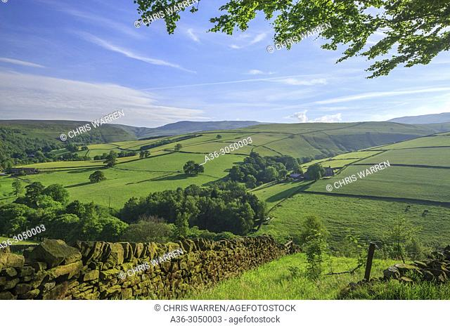 Hayfield High Peak Derbyshire England