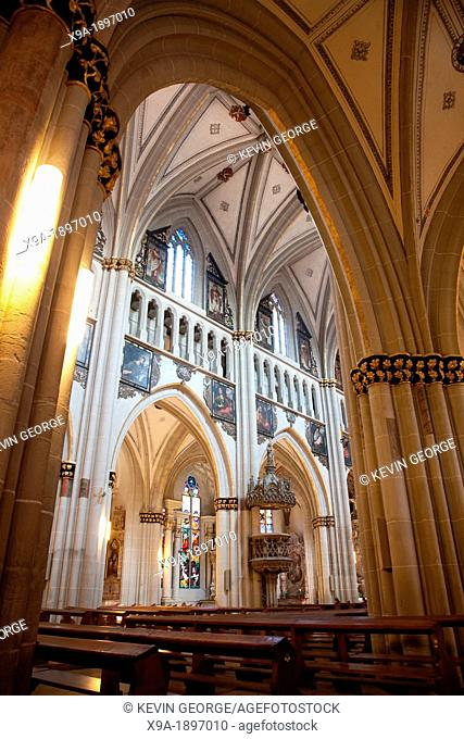 St Nicolas de Myre Cathedral, Fribourg, Switzerland, Europe