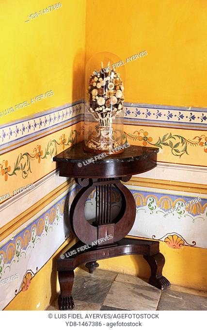 Museo Romantico adornment of the historic city of Trinidad, Cuba