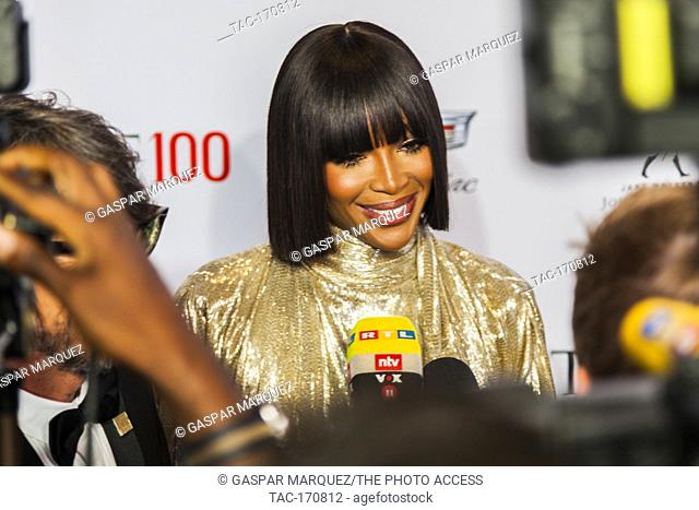 Naomi Campbell attends TIME 100 GALA on April 23 in New York City