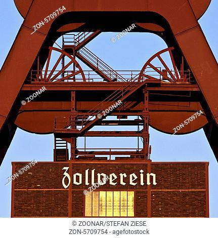 Headframe Zollverein Shaft XII, Essen, Germany