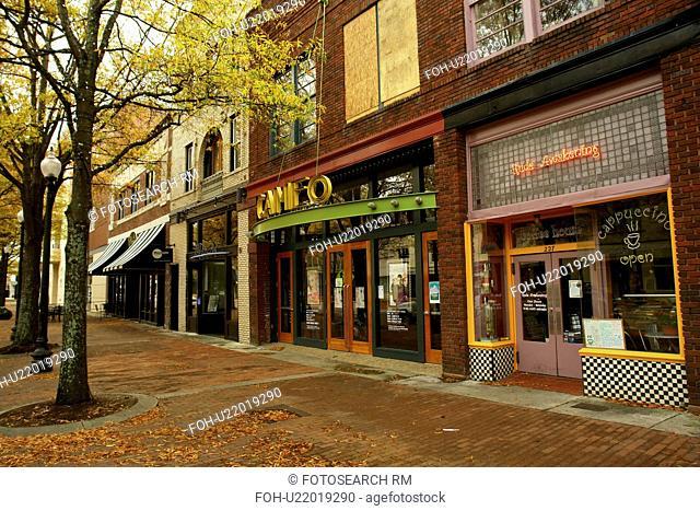 Fayetteville, NC, North Carolina, Downtown, autumn