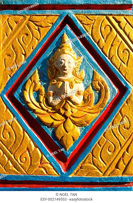 Buddhist carving