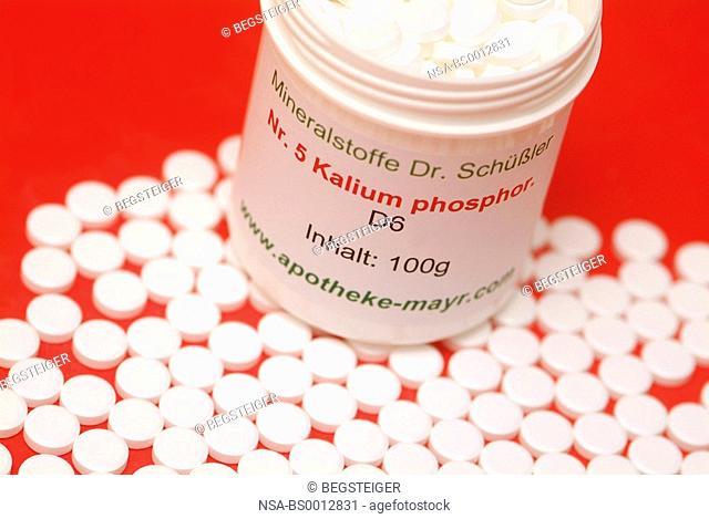 tissue salts, Kalium phosphoricum, Nr 5