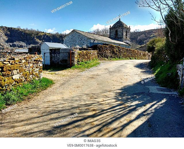 Santo Estevo de Liñares church, Lugo province, Spain