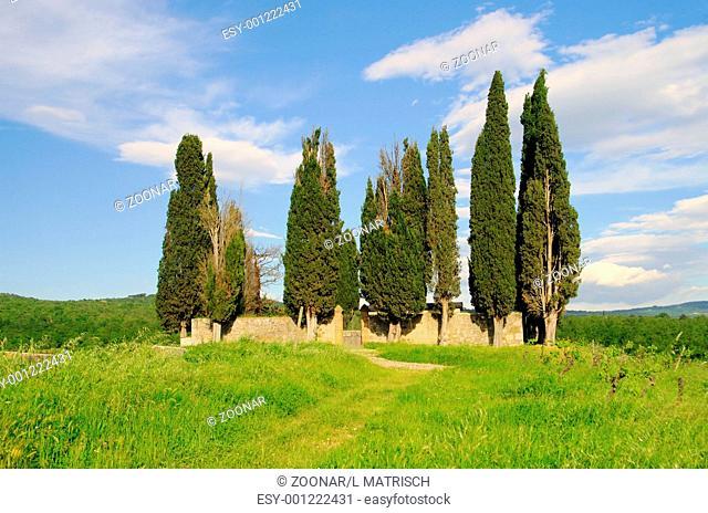 Tuscany cemetary