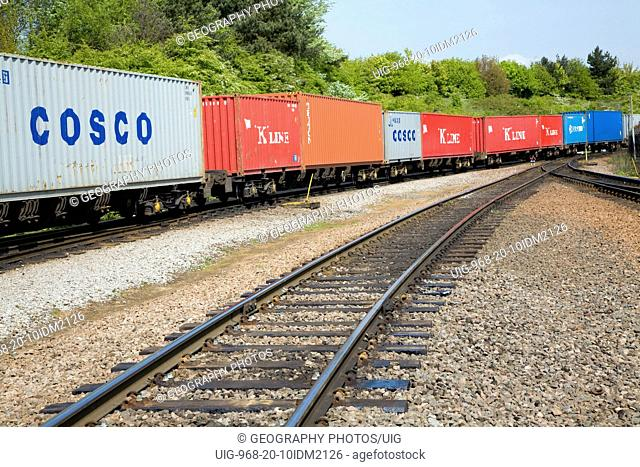 Cosco shipping container Stock Photos and Images | age fotostock