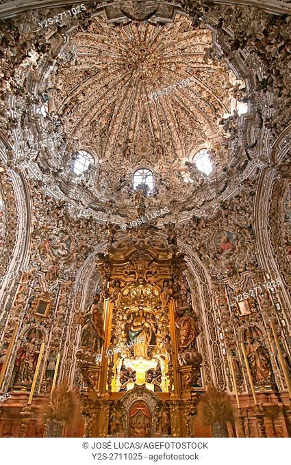 Parish church of San Mateo, Sagrario chapel - 18th century, Lucena, Cordoba province, Region of Andalusia, Spain, Europe
