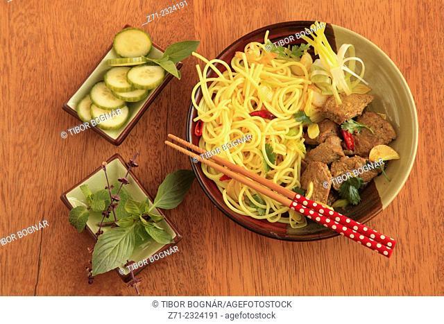 Vietnamese braised five spices pork