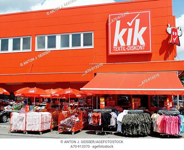 Textil discount Kik Kleider, Germany