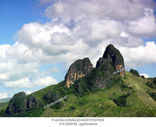 Mountain view San juan de los Morros, Guarico state Venezuela