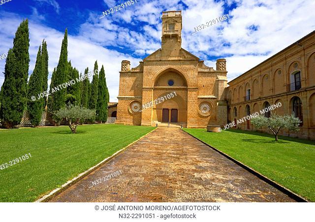 Santa Maria de la Oliva, Cistercian Monastery, Monastery of La Oliva. Carcastillo Navarre. Spain