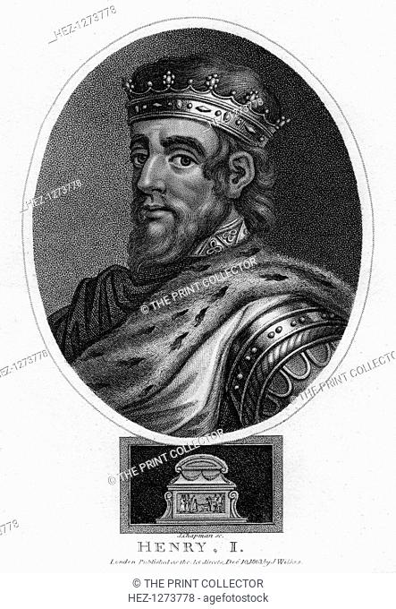 Henry I, King of England, (1803). The youngest son of William I, the Conqueror, Henry I (1068-1135) became king in 1100. After defeating his brother Robert in a...