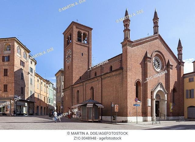 Chiesa di San Giovanni Battista (Saint John the Baptist Church). Piacenza, Italy