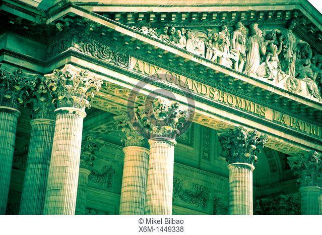 The Pantheon  Latin Quarter, Paris, France, Europe