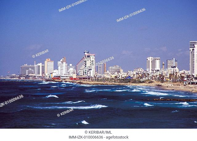 View of the city from Jaffa Tel Aviv, Israel, Middle East