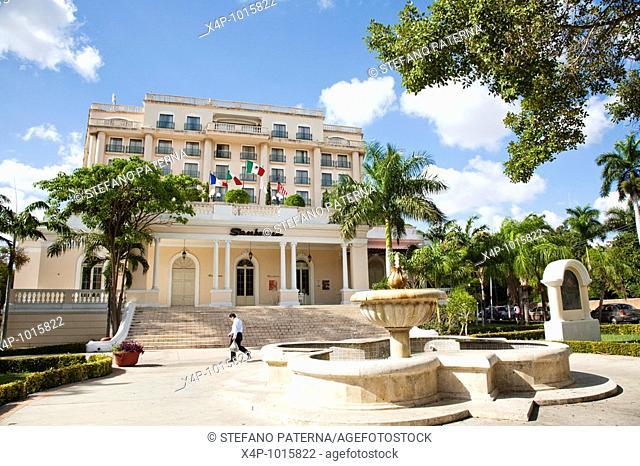 Sanborns Hotel along Paseo Montejo  Merida, Yucatan, Mexico