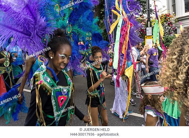 United Kingdom, England, London, Notting Hill Carnival, Kensington And Chelsea