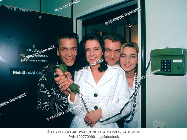 """""""""""Ace of Base"""", schwedische Popgruppe in München, Deutschland 1993. Swedish pop group """"Ace of Base"""" at Munich, Germany 1993. 