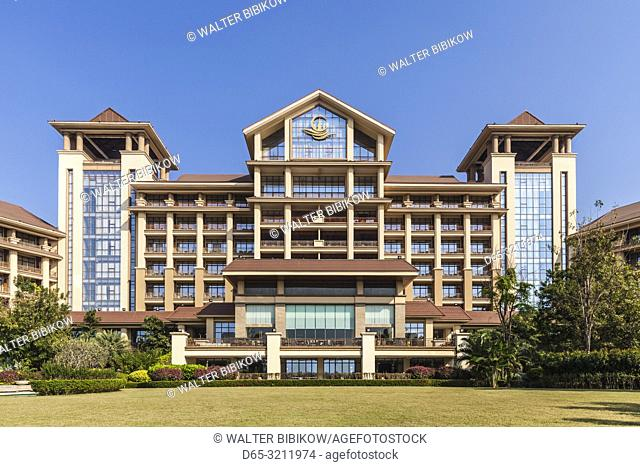 Laos, Vientiane, Mekong Riverfront, Don Chan Palace Hotel