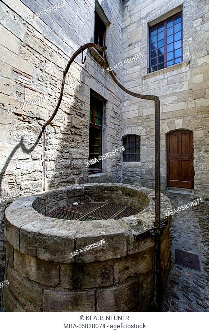 chartreuse Val de Bénédiction, minster, inside, Villeneuve lès Avignon, Département Gard, region of Languedoc-Roussillon, France