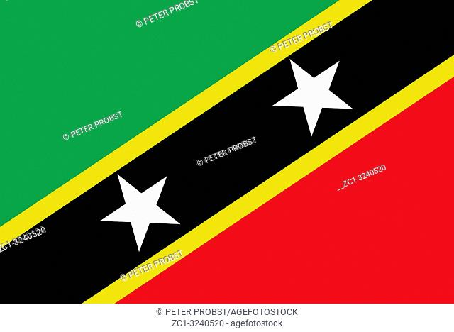Flag of Saint Kitts and Nevis - Commonwealth