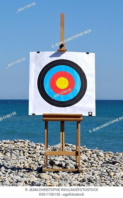target on the sea