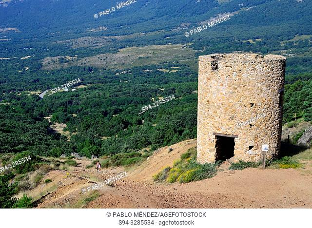 Silver mine tower of Bustarviejo, Madrid, Spain