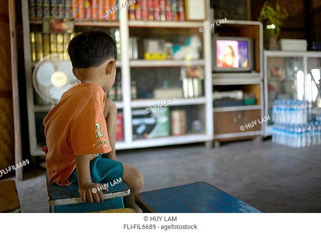 Local Young Boy, Bagan, Myanmar Burma