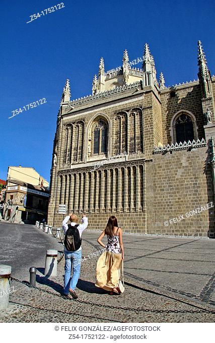 San Juan de los Reyes Monastery, Toledo, Castilla La Mancha, Spain