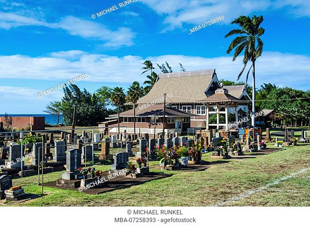 Cemetery in Paai, Maui, Hawaii