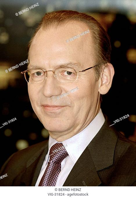 Florian GERSTER ( SPD), chief executive officer of the Federal Institute for Employment ( BA ). - BERLIN, GERMANY, 08/05/2003
