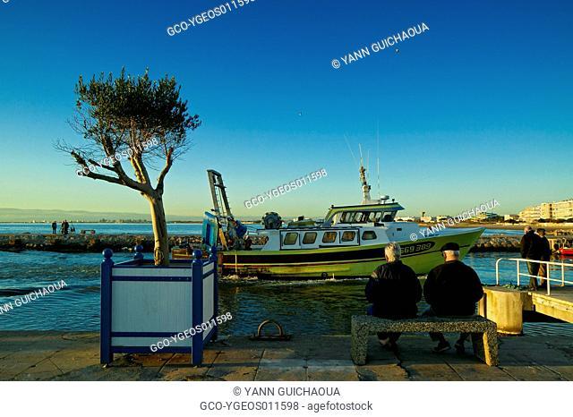 Le Grau Du Roi's Harbour, Languedoc-Roussillon, France